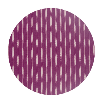 Ikat Placemat, Plum x Blush