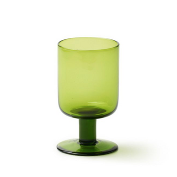 Wine Goblet, Green