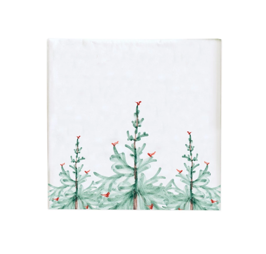 Fir Tree Cocktail Napkin Set