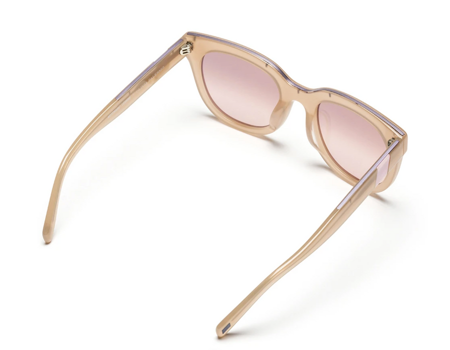 Moore Sunglasses, Sand x Pink