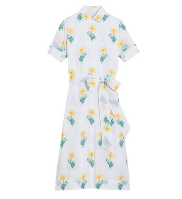 Amara Dress II, Yellow Poppy