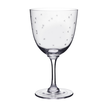 Stars Crystal Wine Glass