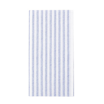 Capri Stripe Guest Towels, Blue x White
