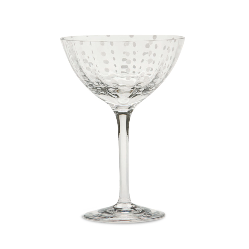 Perle Cocktail Coupe, Clear