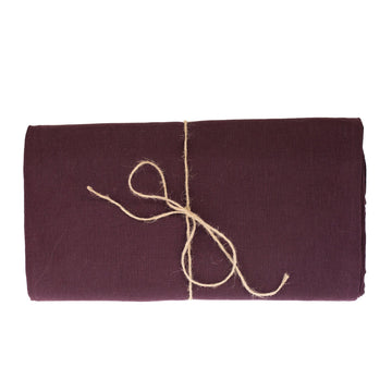 Linen Tablecloth, Aubergine