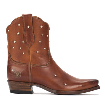 Presidio Short Boot, Cognac