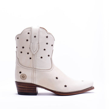 Presidio Short Boot, White