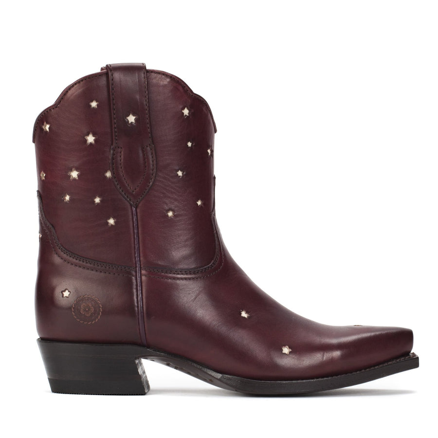Presidio Short Boot, Wine