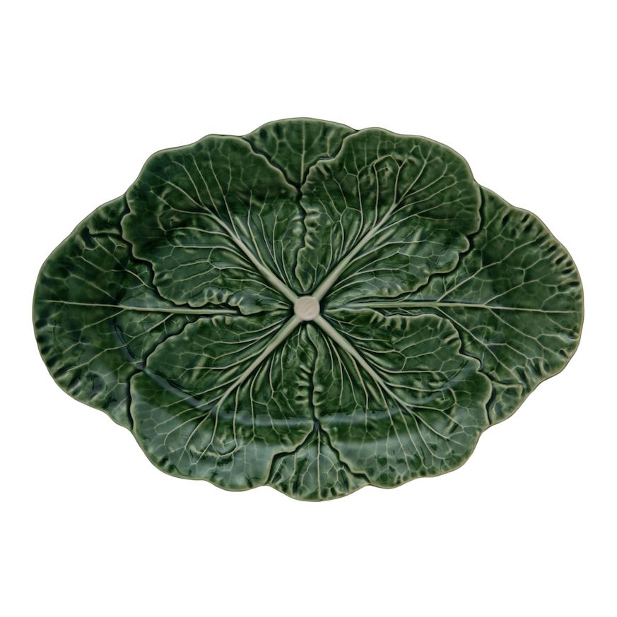 Cabbage Oval Platter 17