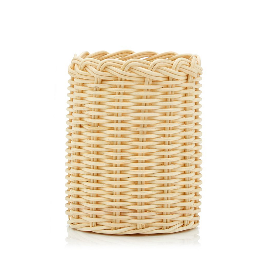 Rattan Can Holder, Natural