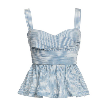 Isla Top, French Blue Stripe
