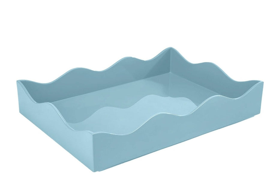 Medium Belles Rives Tray, Bluebird