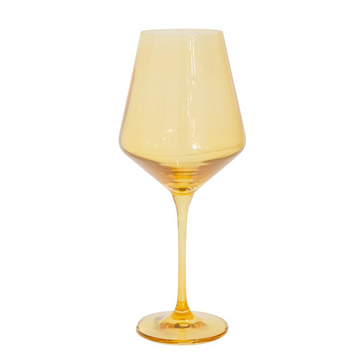 Wine Glass (Set of 2), Yellow
