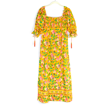 Mini Cashew Maxi Dress