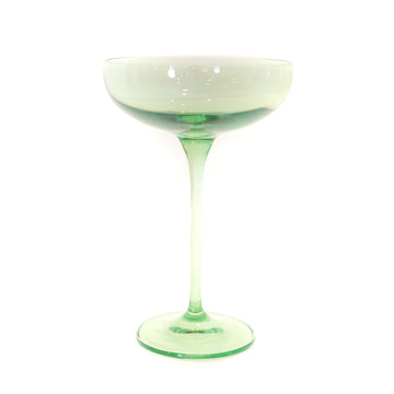 Champagne Coupe (Set of 2), Mint Green