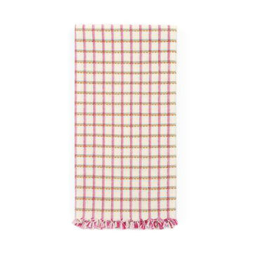 Juniper Tea Towel, Pink