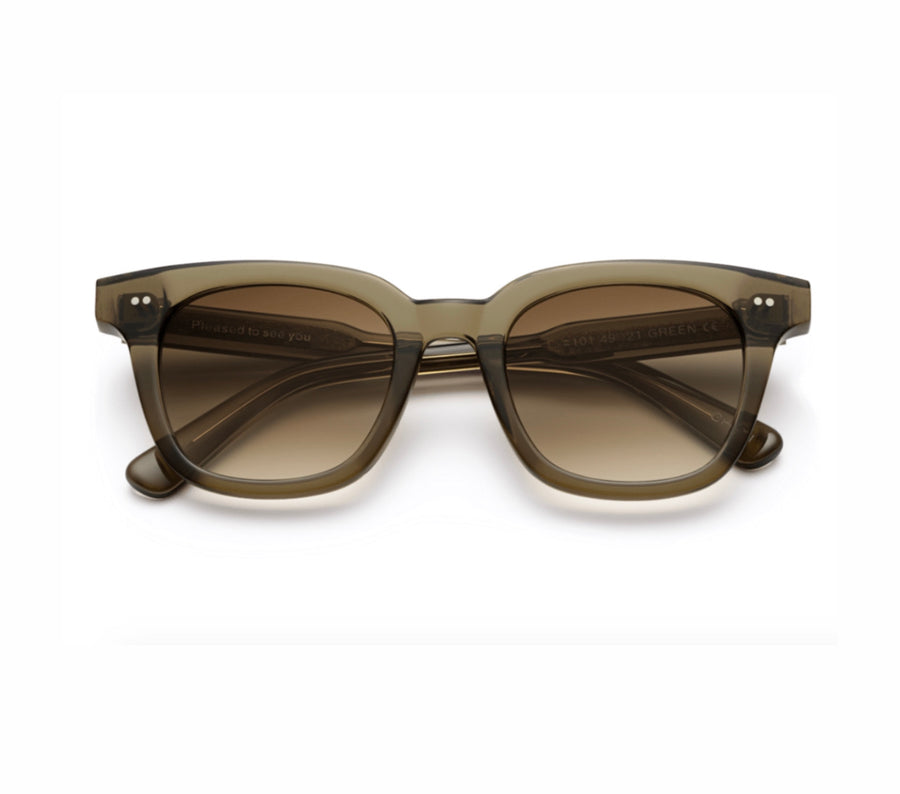 No. 101 Sunglasses, Olive