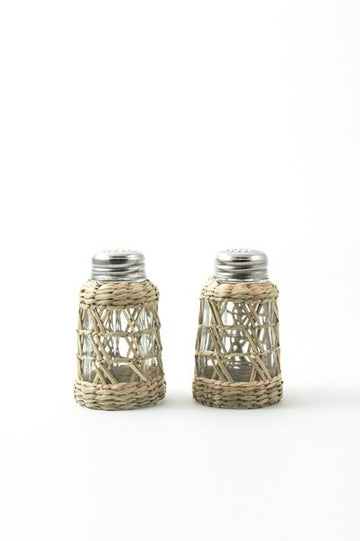 Seagrass Salt & Pepper Shakers