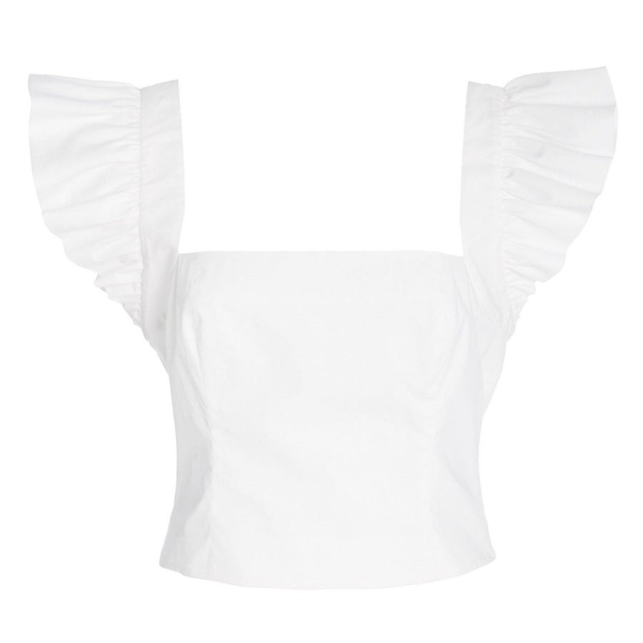 Hyannis Blouse, White
