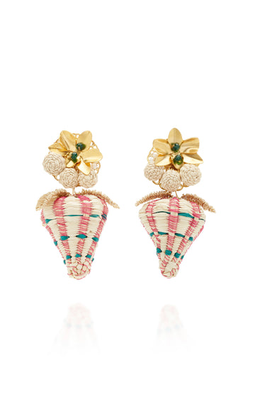 Tropical Strawberry Earrings