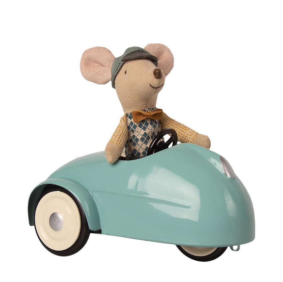 Mouse Car with Gargage, Blue