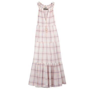 The Gabrielle Les Madras Dress, Pink
