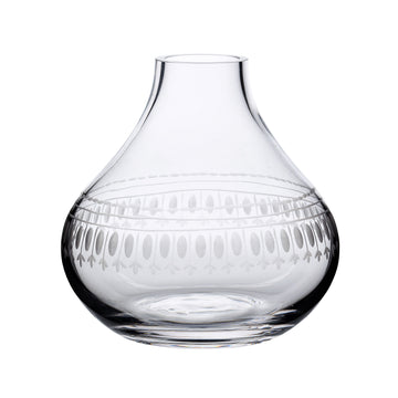 Crystal Bud Vase, Oval Band