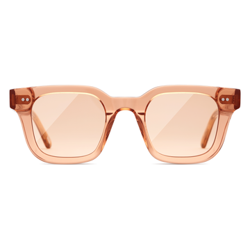 Peach Clear Sunglasses