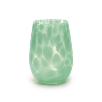 Fritsy Wine Glass, Jade Green