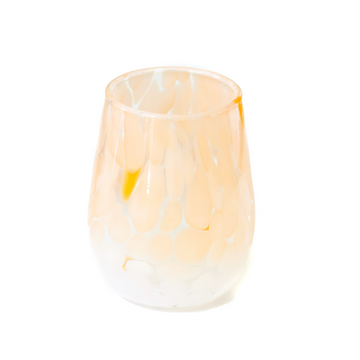 Fritsy Wine Glass, Crème Orange