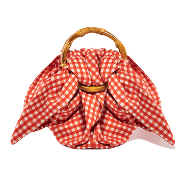 Bambola Mini Bag, Red Gingham