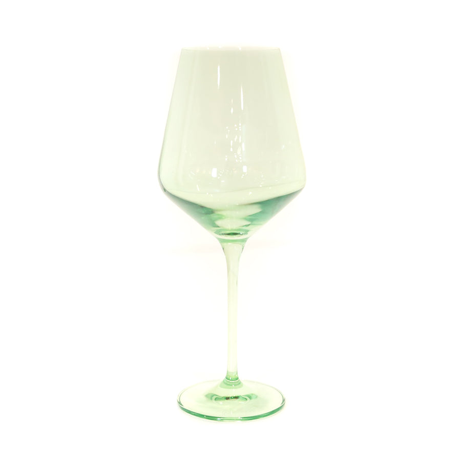 Wine Glass (Set of 2), Mint Green