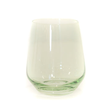 Stemless Wineglass (Set of 2), Mint Green