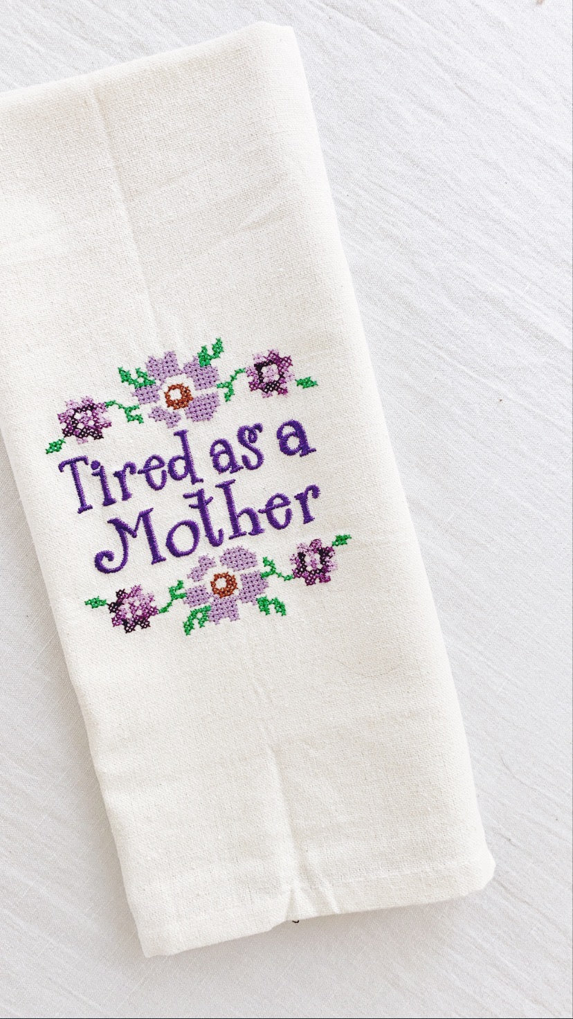'Homeschool Life' Tea Towel