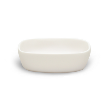 Water Bath Soap Dish, White