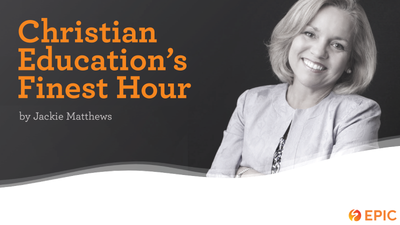 Christian Education In The World Of COVID-19 And Beyond. Could This Be Our Finest Hour?
