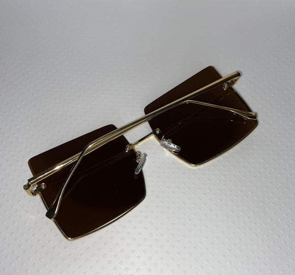 Hollywood Blvd Sunglasses Brown