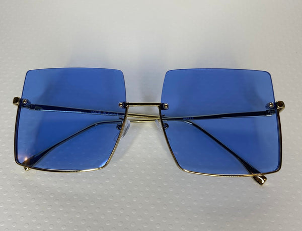 Hollywood Blvd Sunglasses Blue