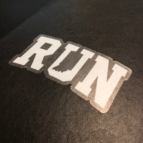 Inverse Run Indiana Sticker