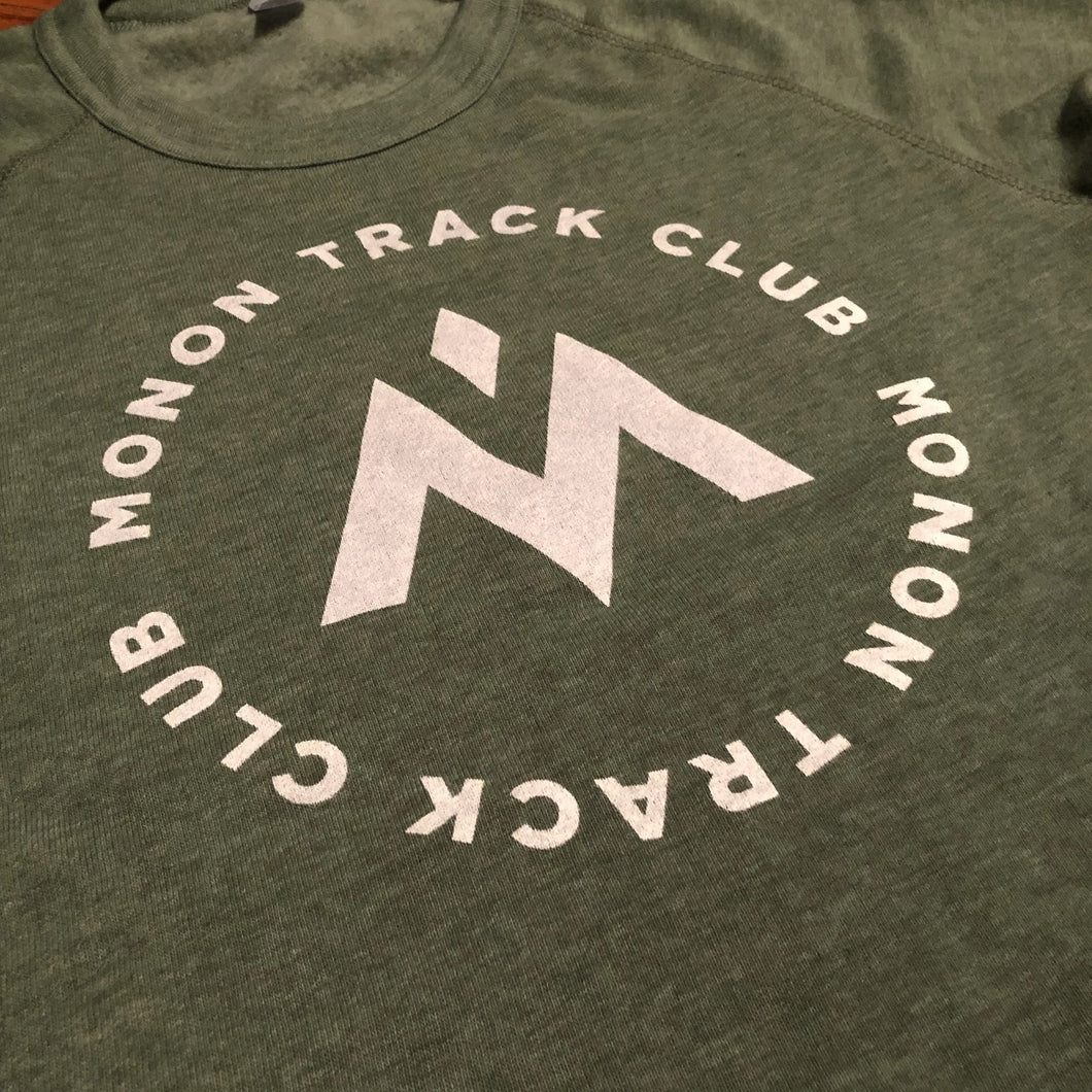 Monon Track Club Forest Green Crewneck Sweatshirt