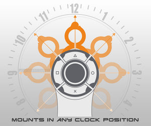 PS4 Aim controller stock clock positions