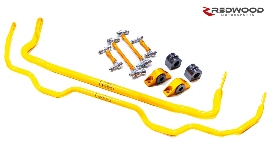 Redwood Motorsports Model 3 Sway Bars - Front and Rear Set