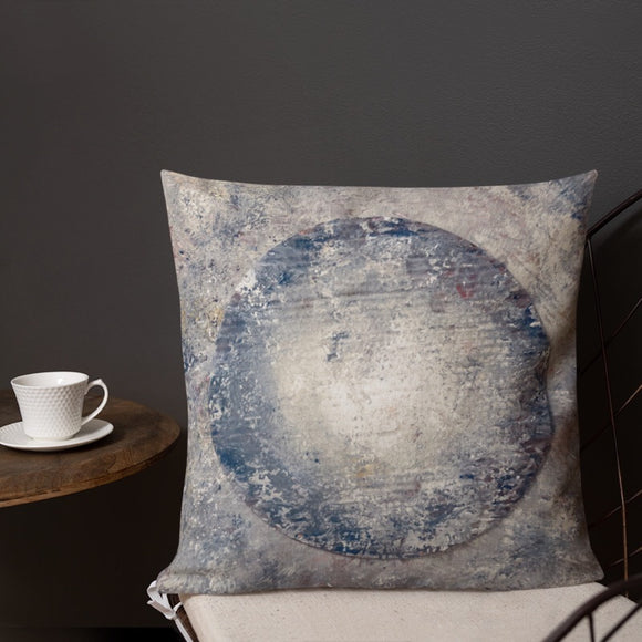 """Moon Box"" Pillow"