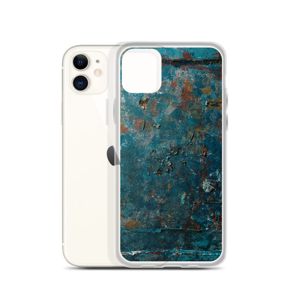 """Fragment of a Rusted Interior Magnified"" iPhone Case"