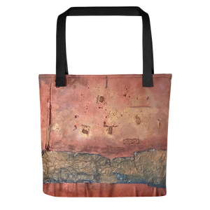 """Greed Decomposed on a Martian Desert"" Tote Bag"