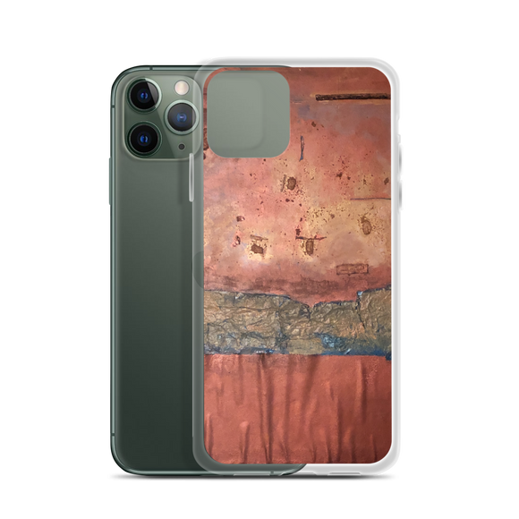 """Greed Decomposed on a Martian Desert"" iPhone Case"