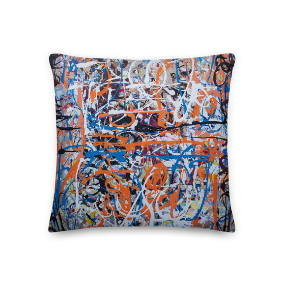 """Amorphous Sprawl"" Pillow"