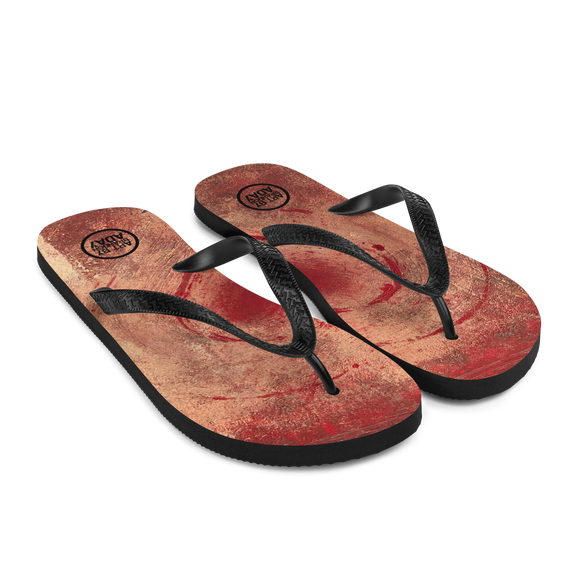"""The Heart Prevails"" Flip-Flops"