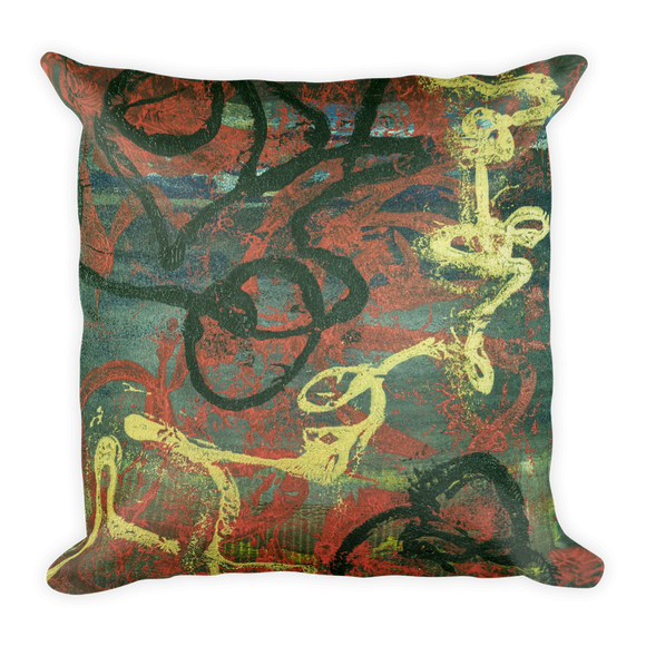 """Gold of Donato"" Pillow"