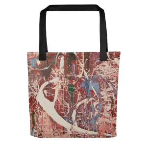 """ Memories of Chaotic Movement"" Tote Bag"